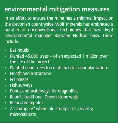Environmental mitigation measures